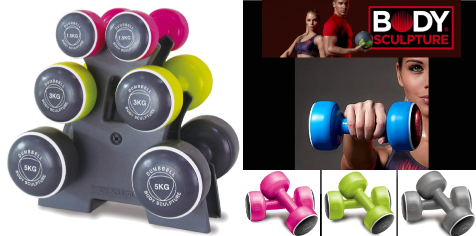 Body Sculpture Smart Dumbbell Tower- Tone Your Arms & Upper Body With This 19 Kg Set Of Smart Dumbbells