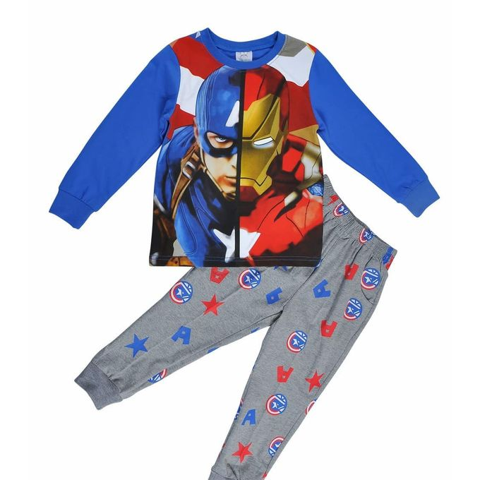Captain America And Iron Man Pyjamas