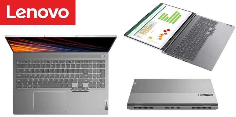 "Lenovo ThinkBook 16p G2- AMD Ryzen™ 9 5900HX, 32GB RAM DDR4, 1TB SSD, 16"" Screen, nVIDIA RTX3060 6GB Graphics, 1 Year Warranty"