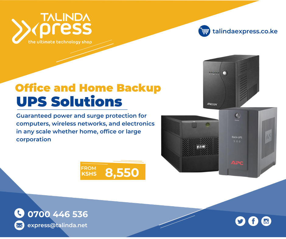 Why do you need a UPS in your home or business?