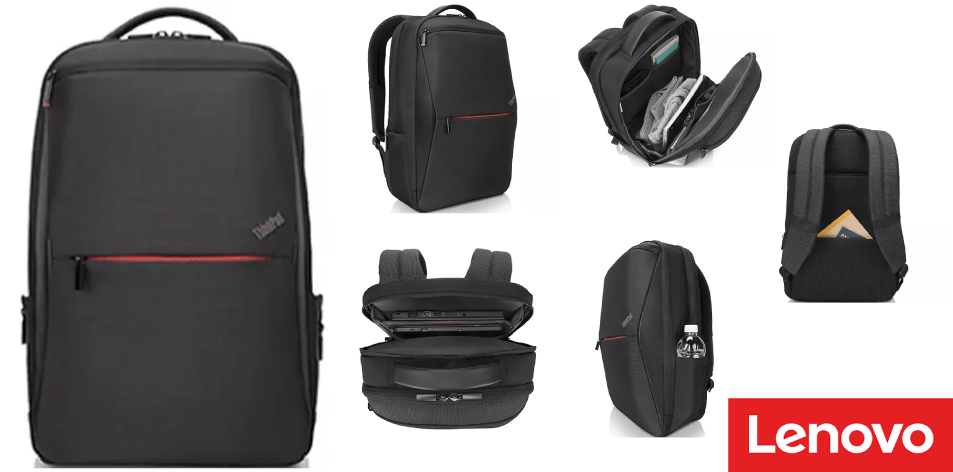 """ThinkPad Professional 15.6"""" Backpack- Streamlined Yet Versatile Backpack For The On-The-Go Professional"""