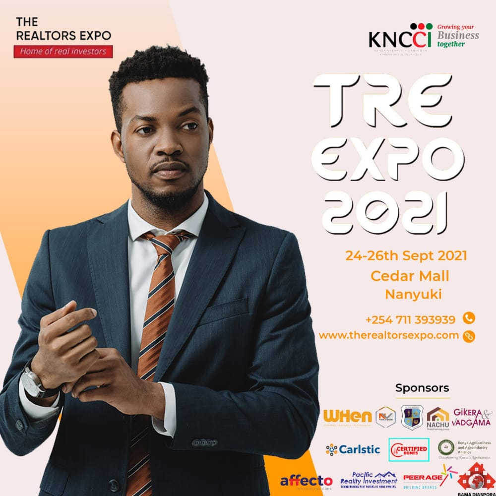 THE REALTORS EXPO '21- Welcome To The 4th Realtors Expo In Nanyuki 24th-26th September 2021