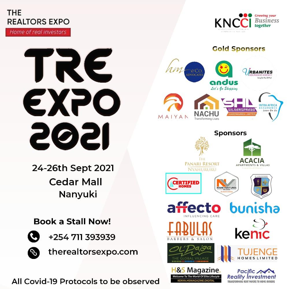The Realtors Expo 2021 Sponsors Nanyuki
