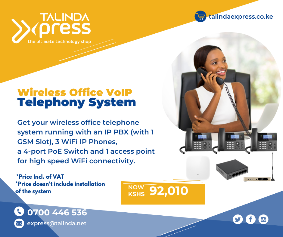 Wireless Office VoIP Telephony System