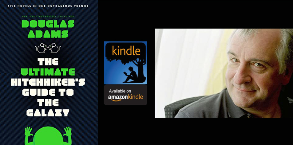 Amazon Kindle- H&S Magazine's Recommended Book Of The Week- Douglas Adams- The Ultimate Hitchhiker's Guide to the Galaxy: Five Novels in One Outrageous Volume