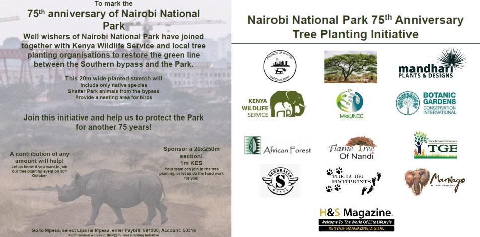 Nairobi National Park 75th Anniversary