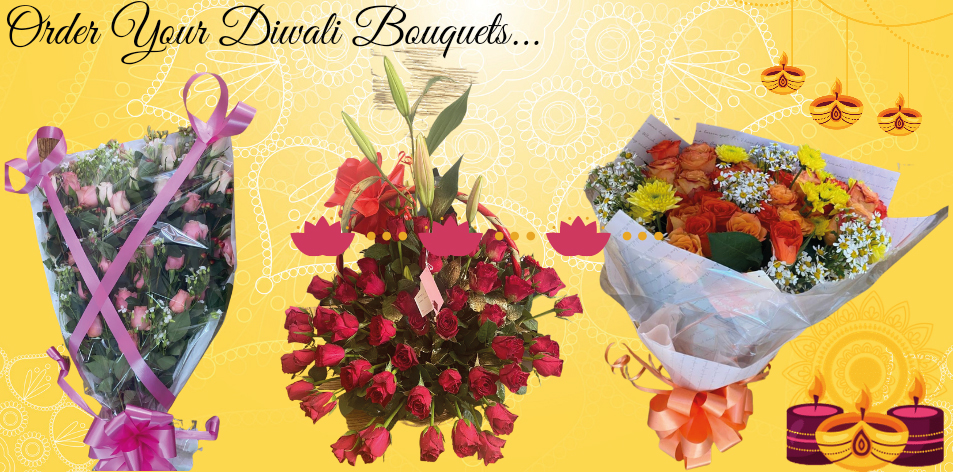 order your diwali bouquets