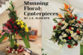stunning floral centrepieces